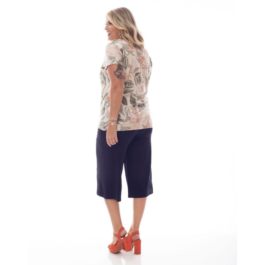 Blusa Plus Size Estampada 92503