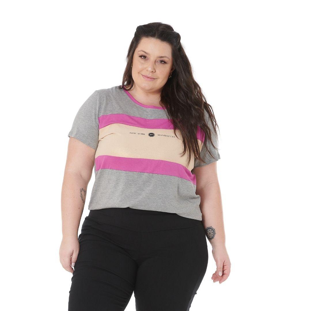 Blusa Plus Size Feminina 102568