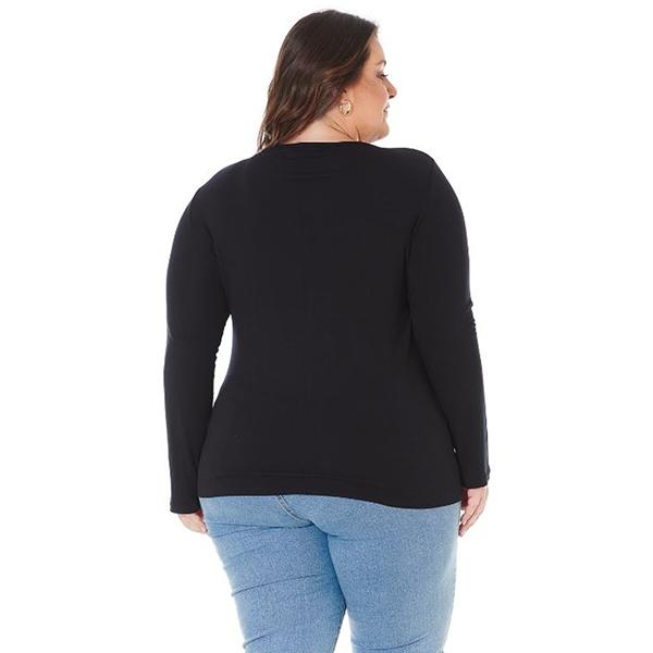 Blusa PLus Size Feminina com Argola 103606