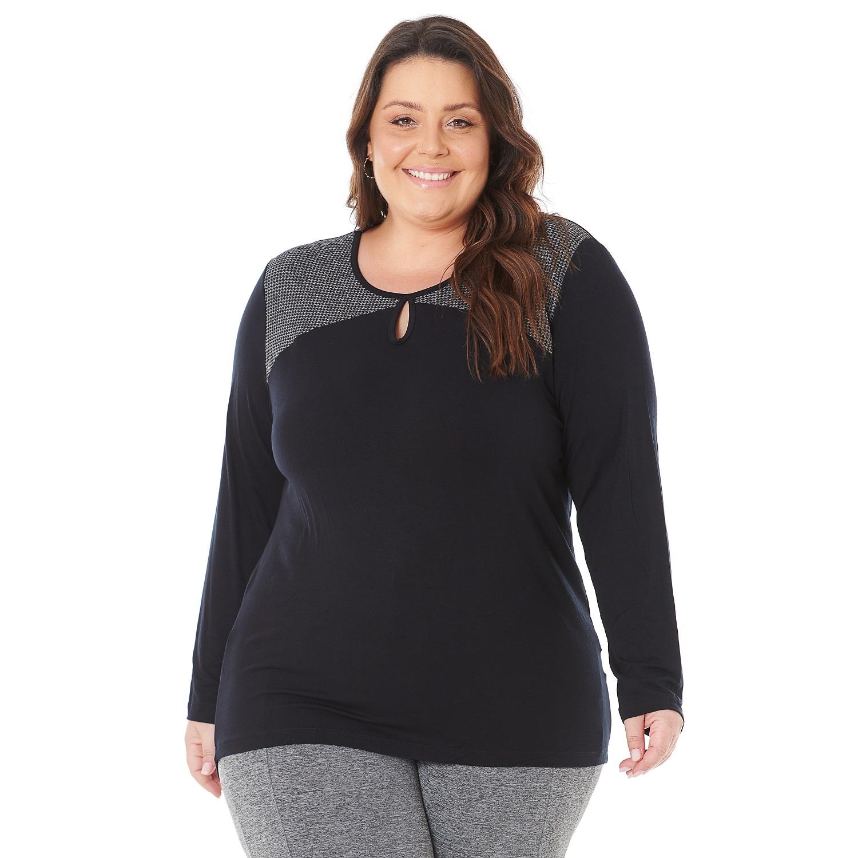 Blusa Plus Size Pé de Pule 101551