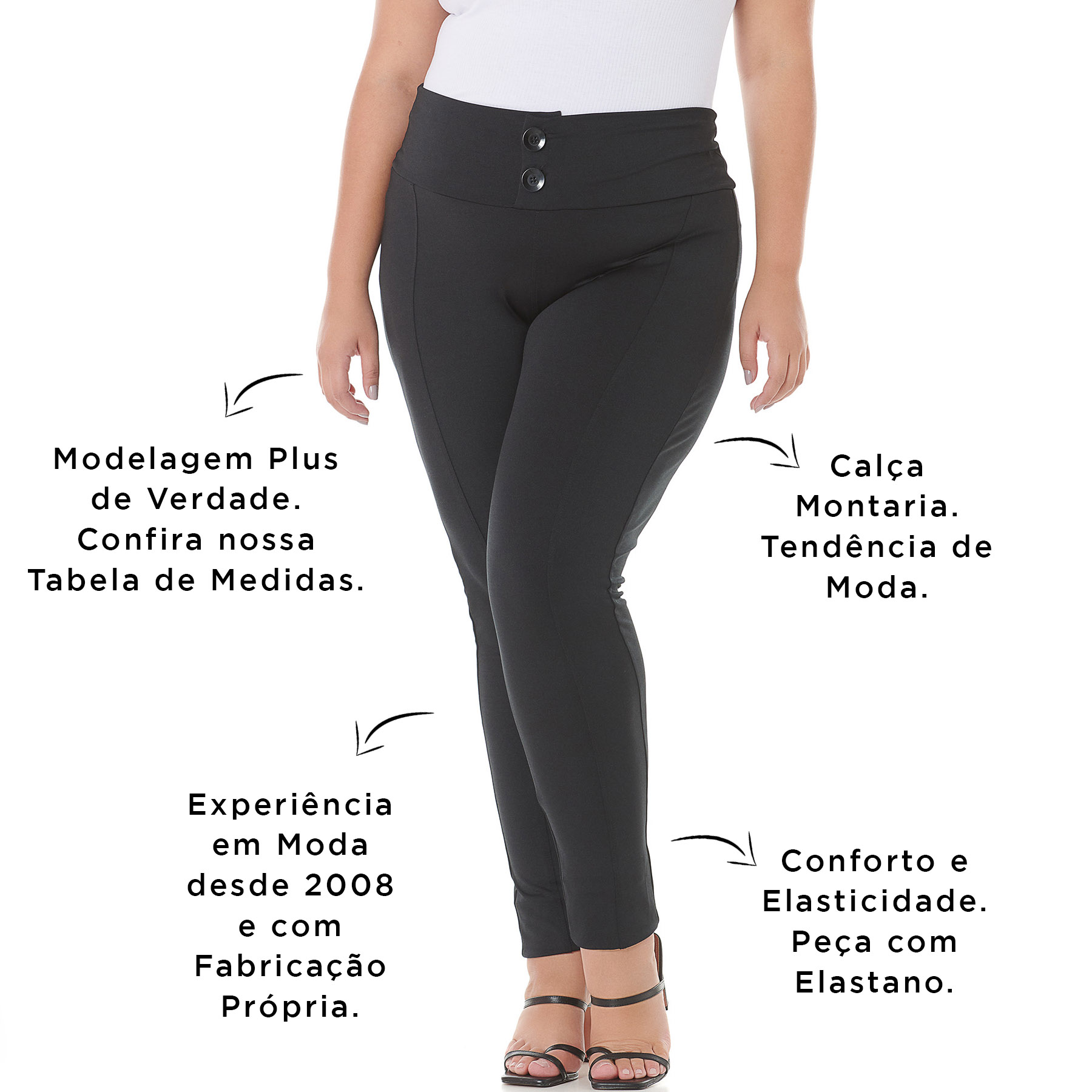Calça Montaria Feminina 103623