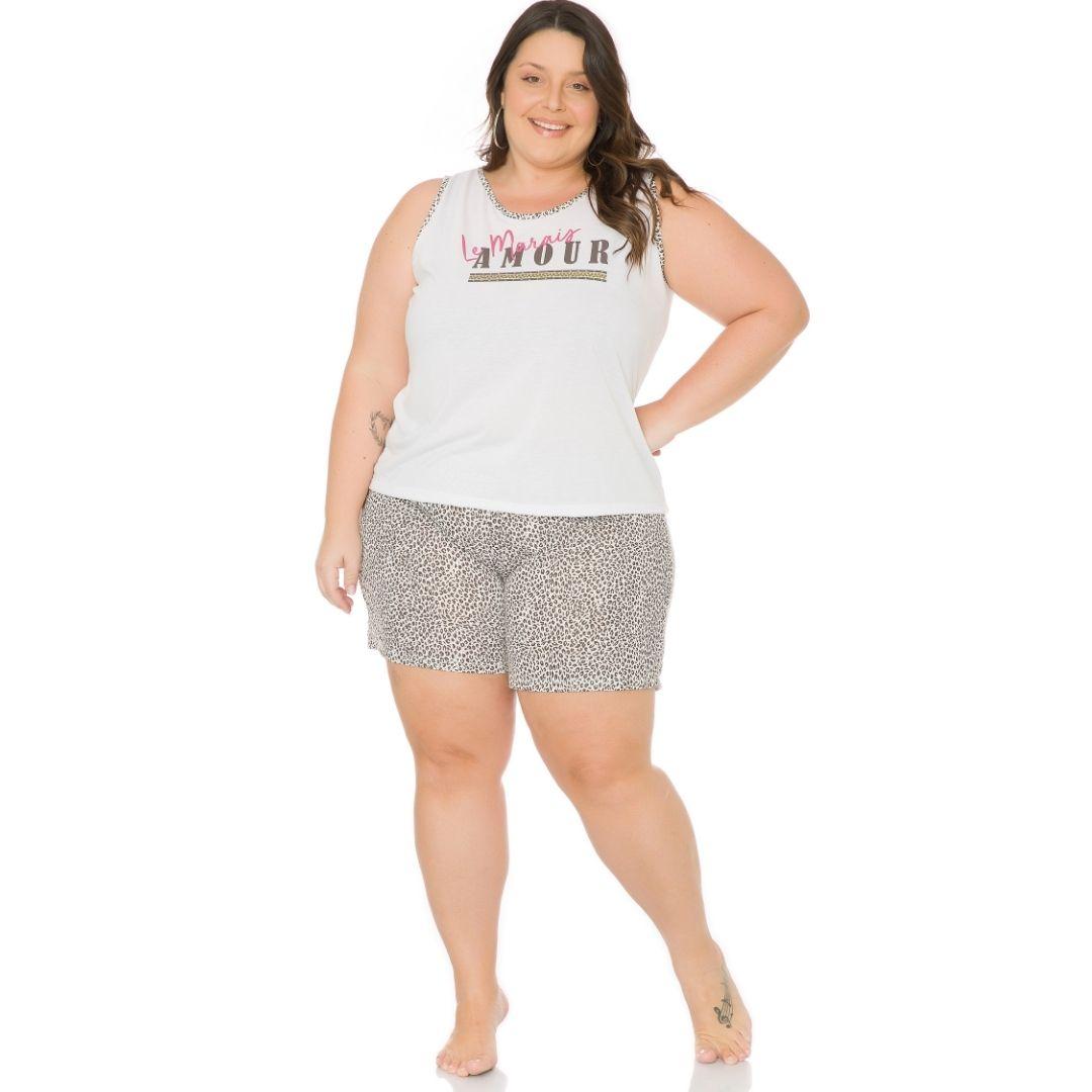 Pijama Plus Size Feminino Baby Doll 1127