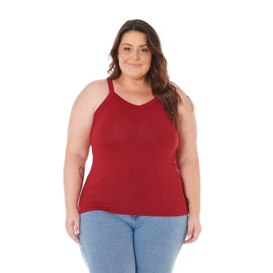 Regata Feminina Plus Size 1123-C2