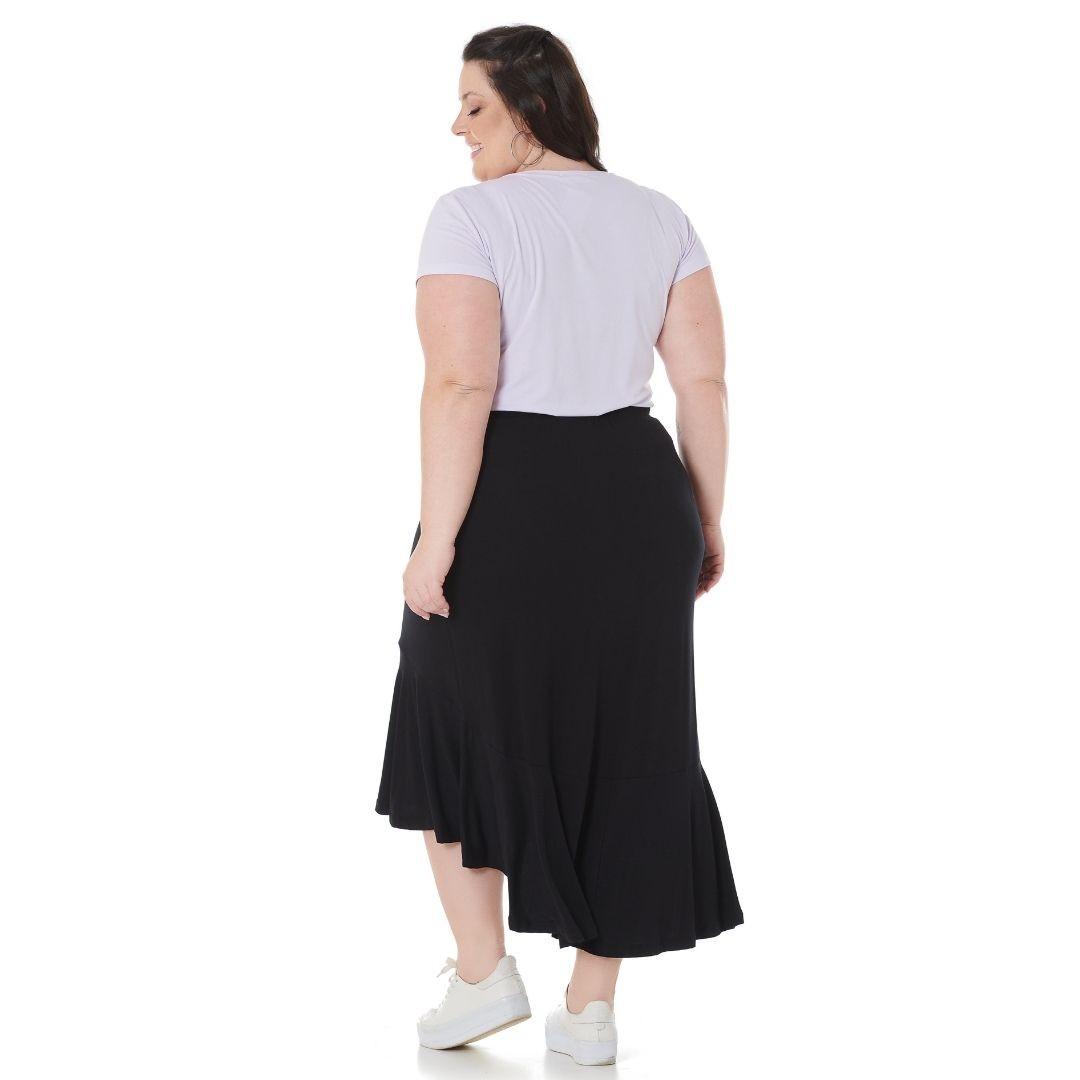Saia mullet Plus Size 102562