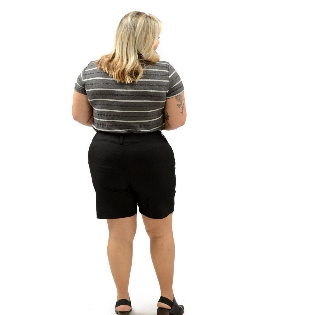 Shorts Bengaline Plus Size 92644