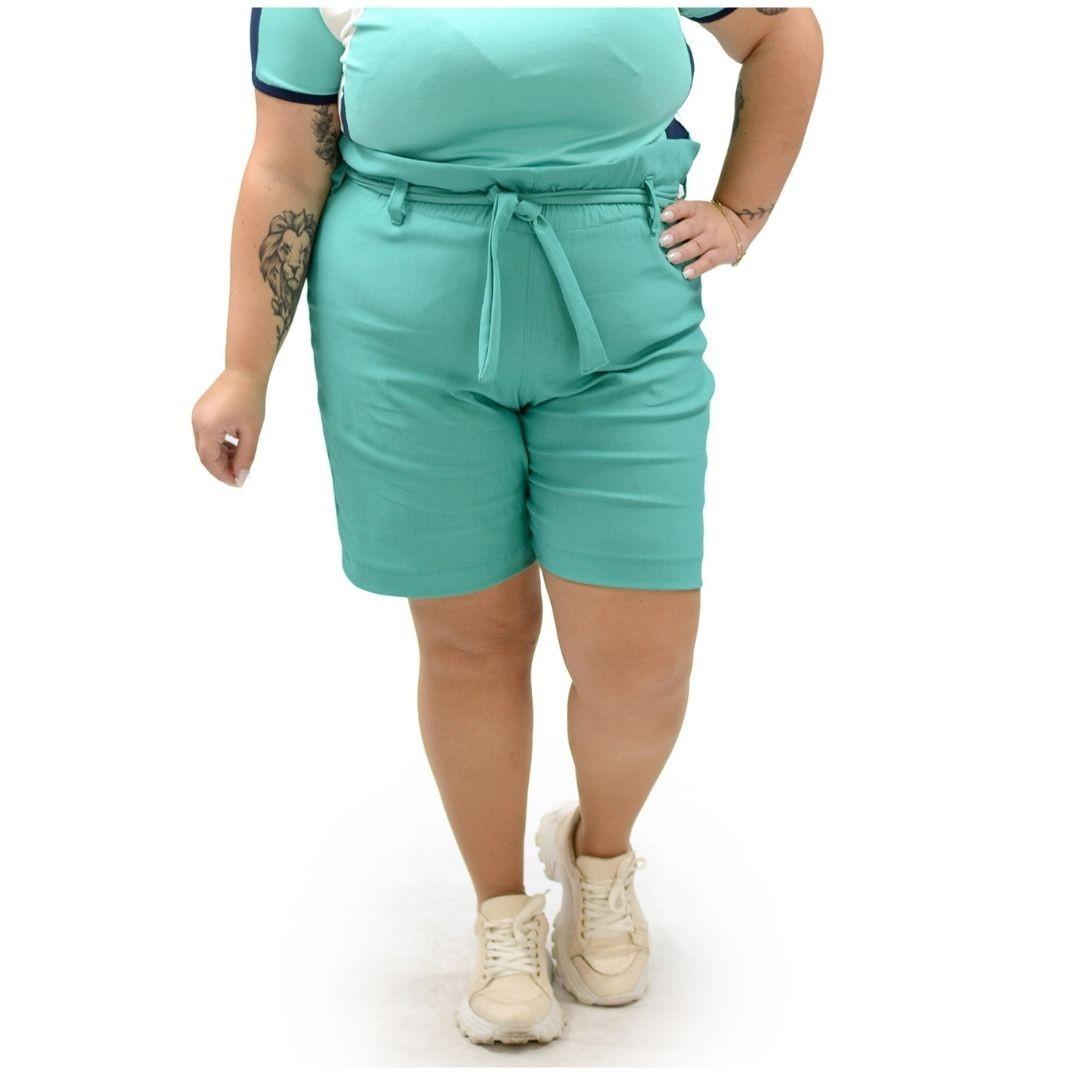 Shorts Bengaline Plus Size Clochard 102527