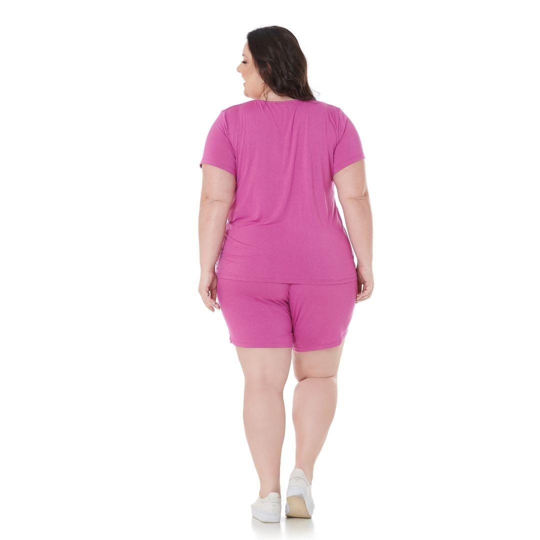 Shorts Plus Size Curto de Viscolycra 102577