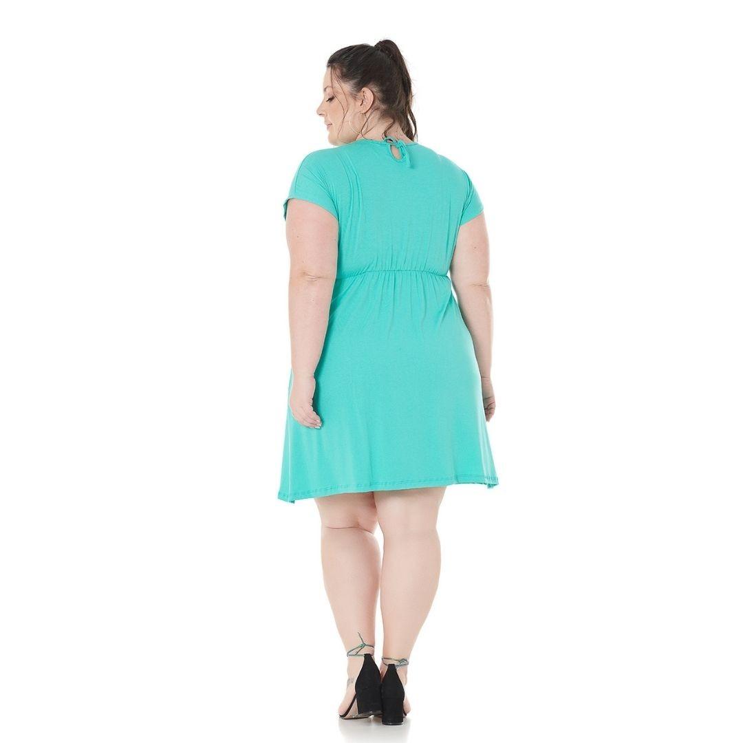 Vestido de Viscolycra Plus Size 102580