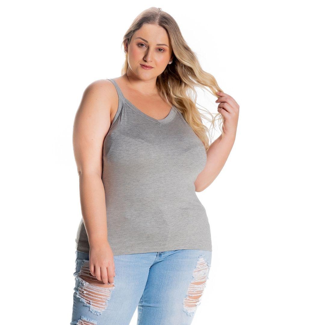Regata Feminina Plus Size 1123-C1