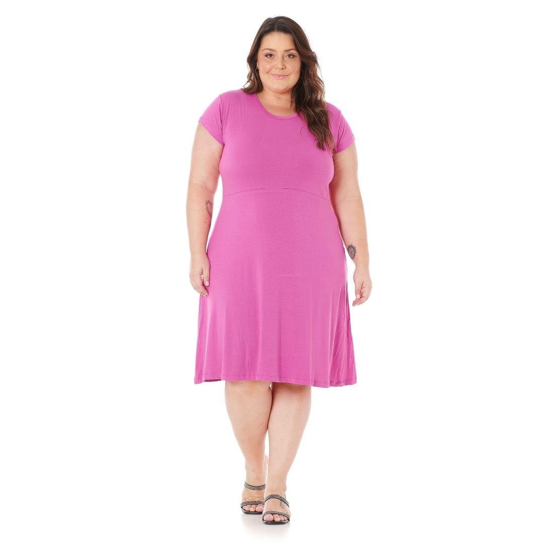 Vestido Feminino Plus Size 1146
