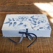 Caixa Floral Azul