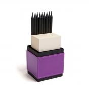 Porta lápis com bloco (Montana Púrpura)