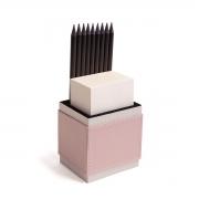 Porta lápis com bloco (Montana Rosé)