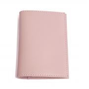 Porta passaporte com bolso (Montana Rosé)