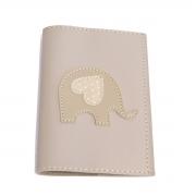 Porta passaporte (Elefante Bege)