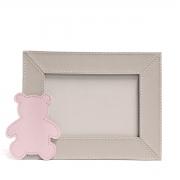 Porta-retrato (Urso Rosa)