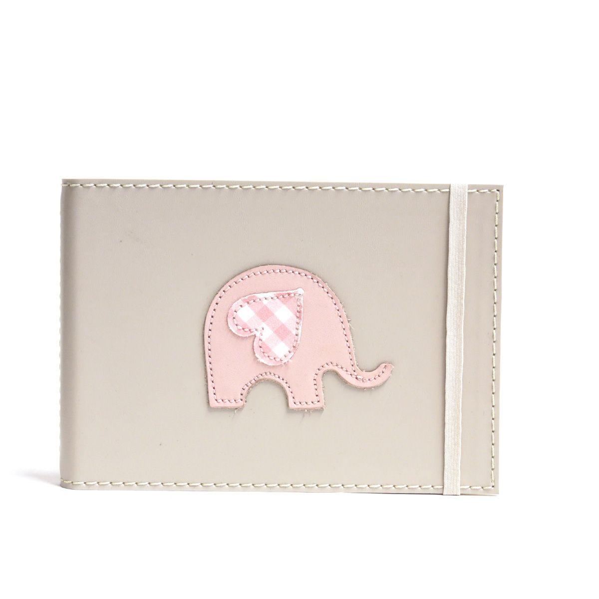 Álbum Mini 24 fotos (Elefante Rosa)