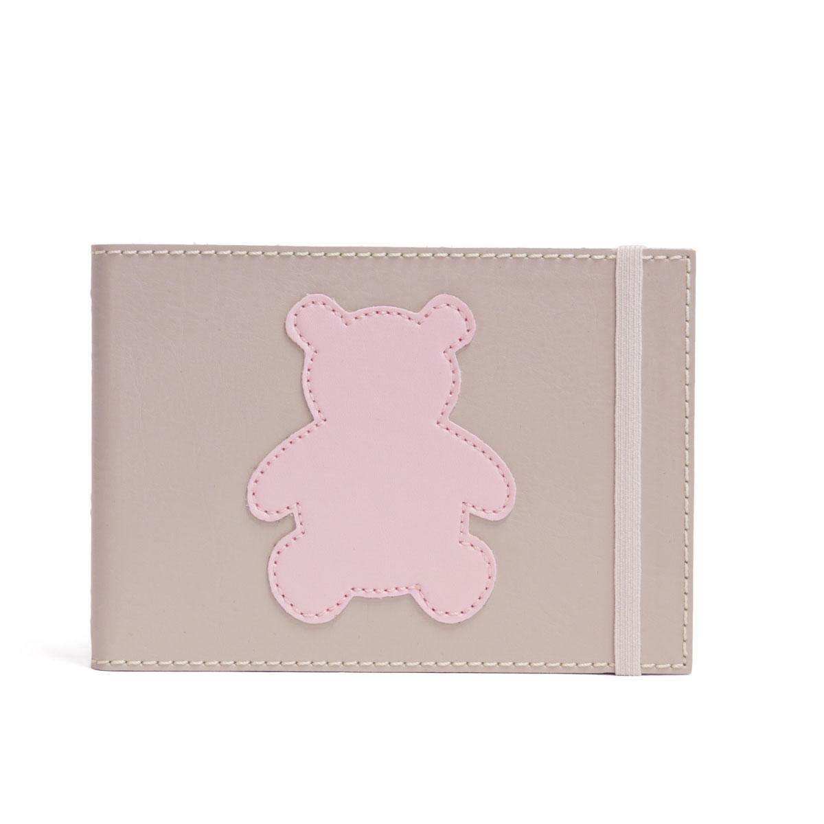 Álbum Mini 24 fotos (Urso Rosa)