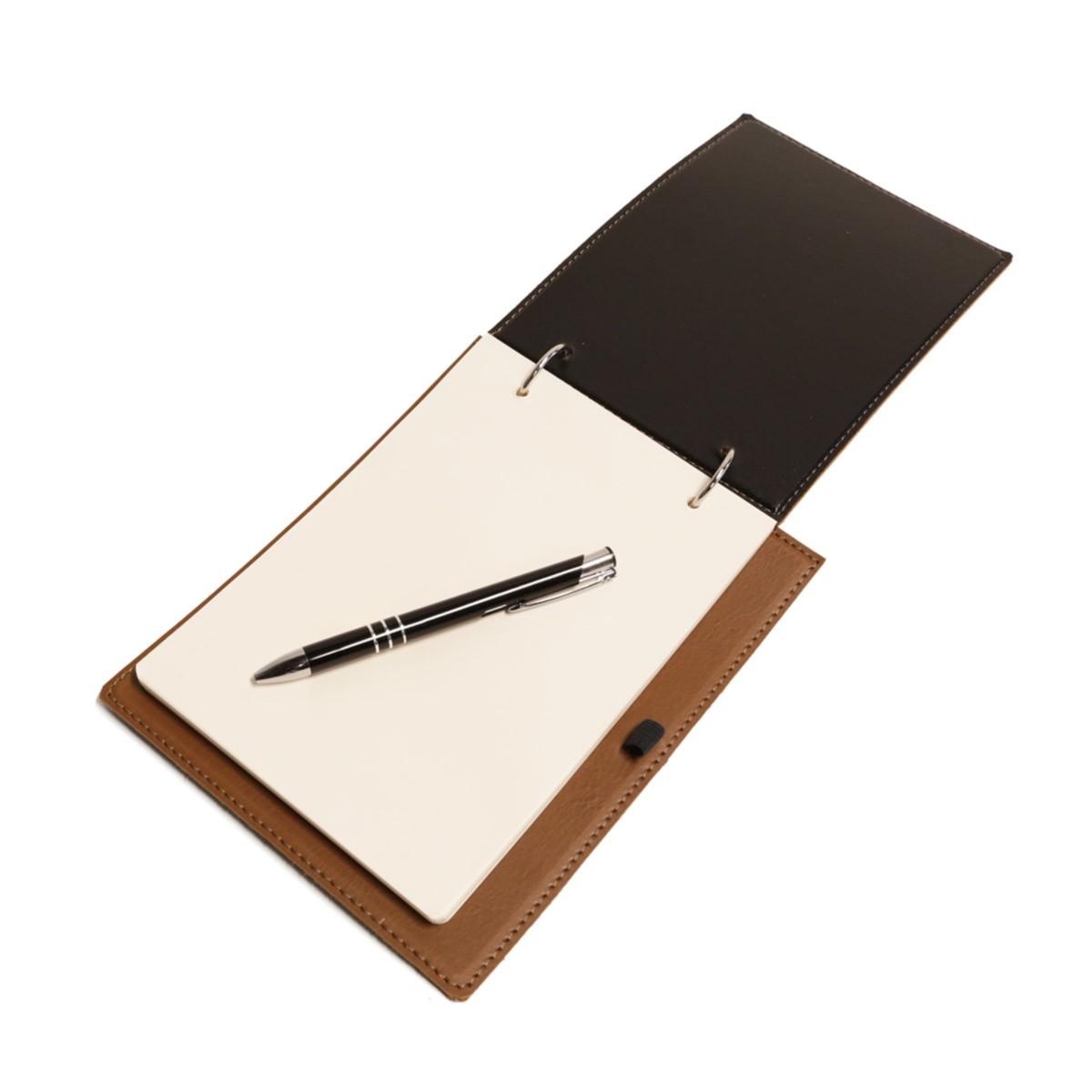 Bloco argola com caneta (Montana Havana)