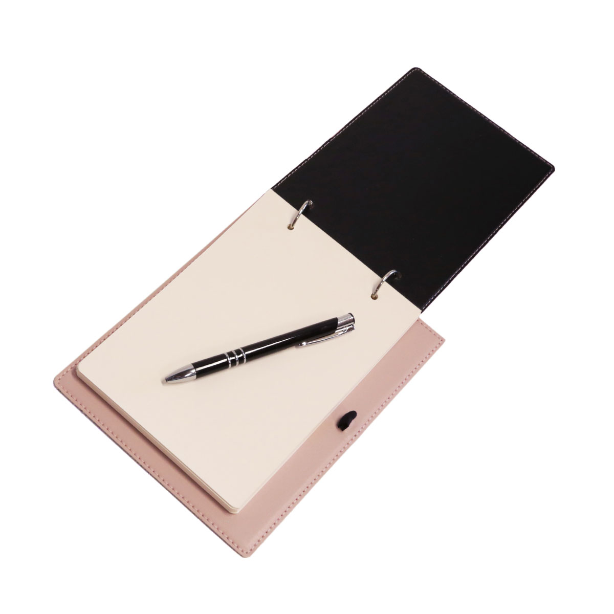 Bloco argola com caneta (Montana Rosé)
