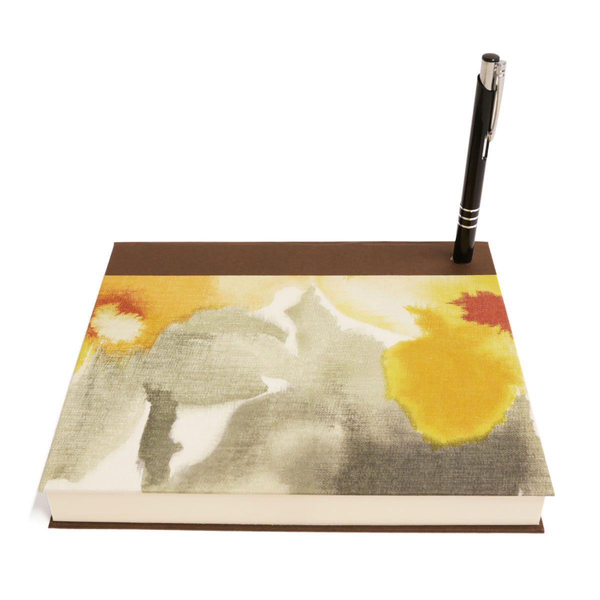 Bloco de desenho (Florear Amarelo)
