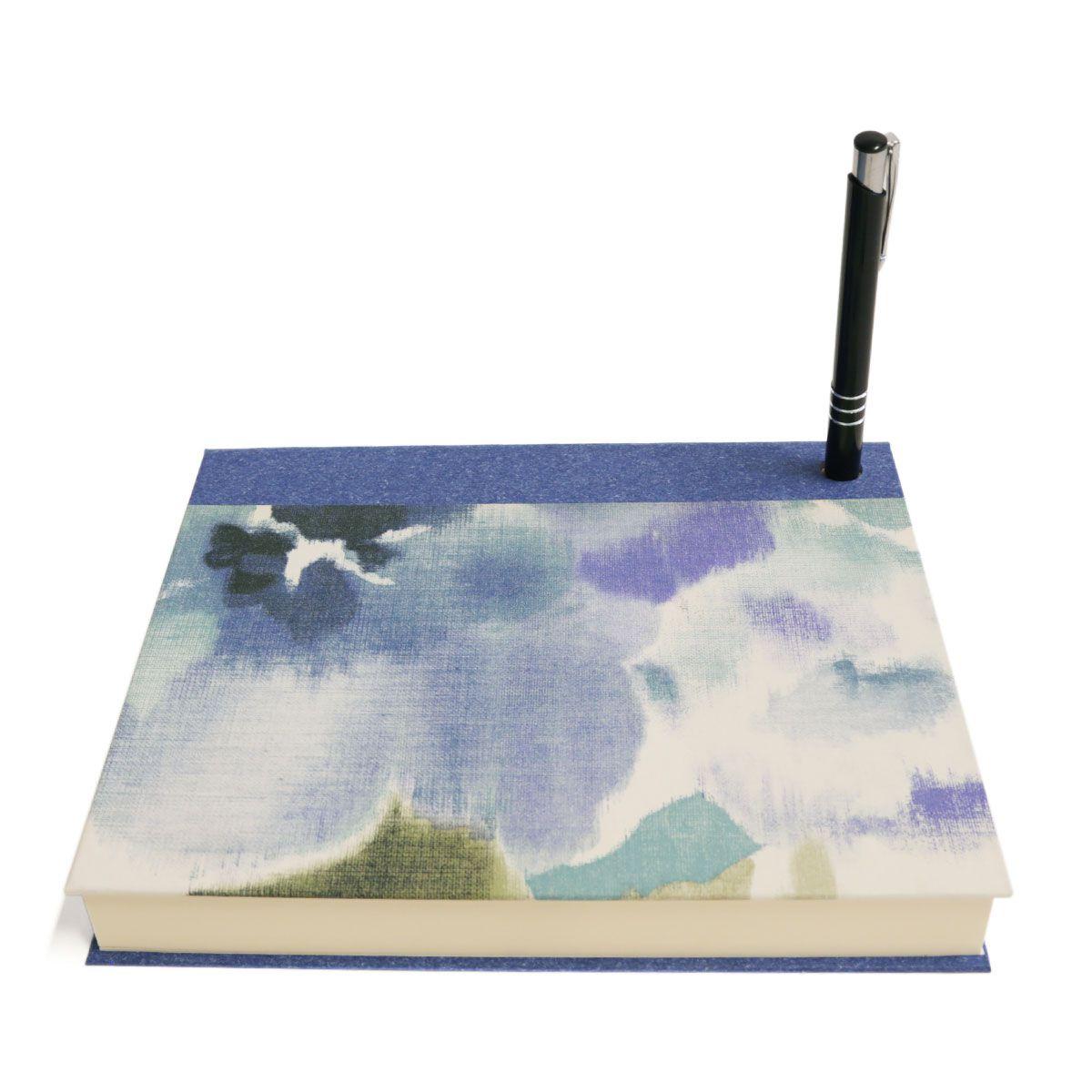 Bloco de desenho (Florear Azul)