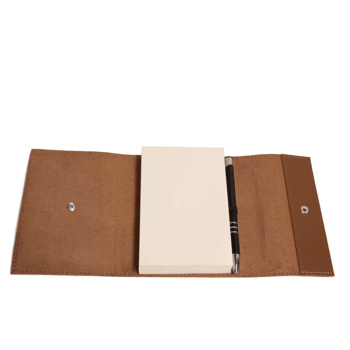 Bloco envelope com caneta (Montana Havana)