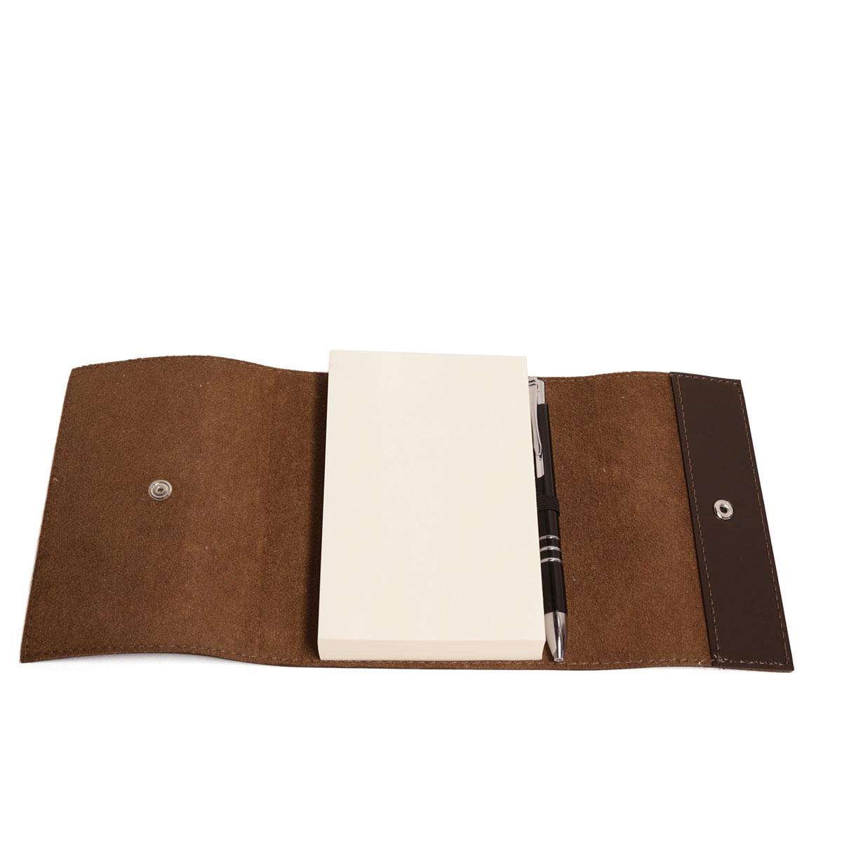 Bloco envelope com caneta (Montana Marrom)