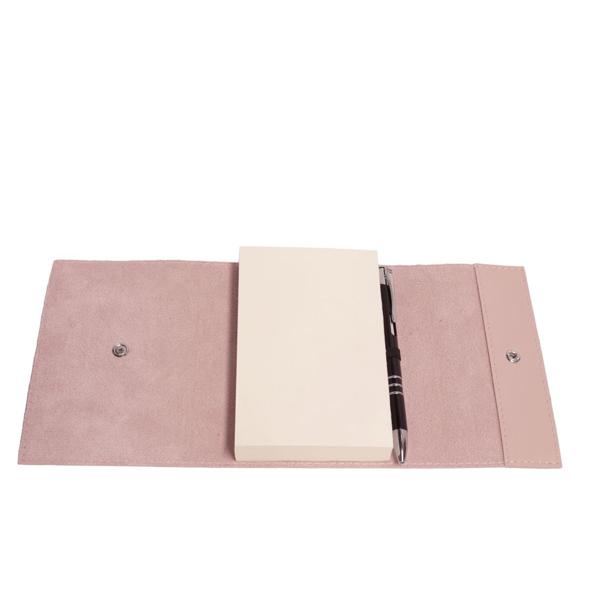 Bloco envelope com caneta (Montana Rosé)