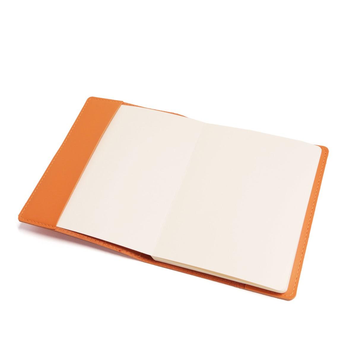 Caderno com sobrecapa (Montana Laranja)