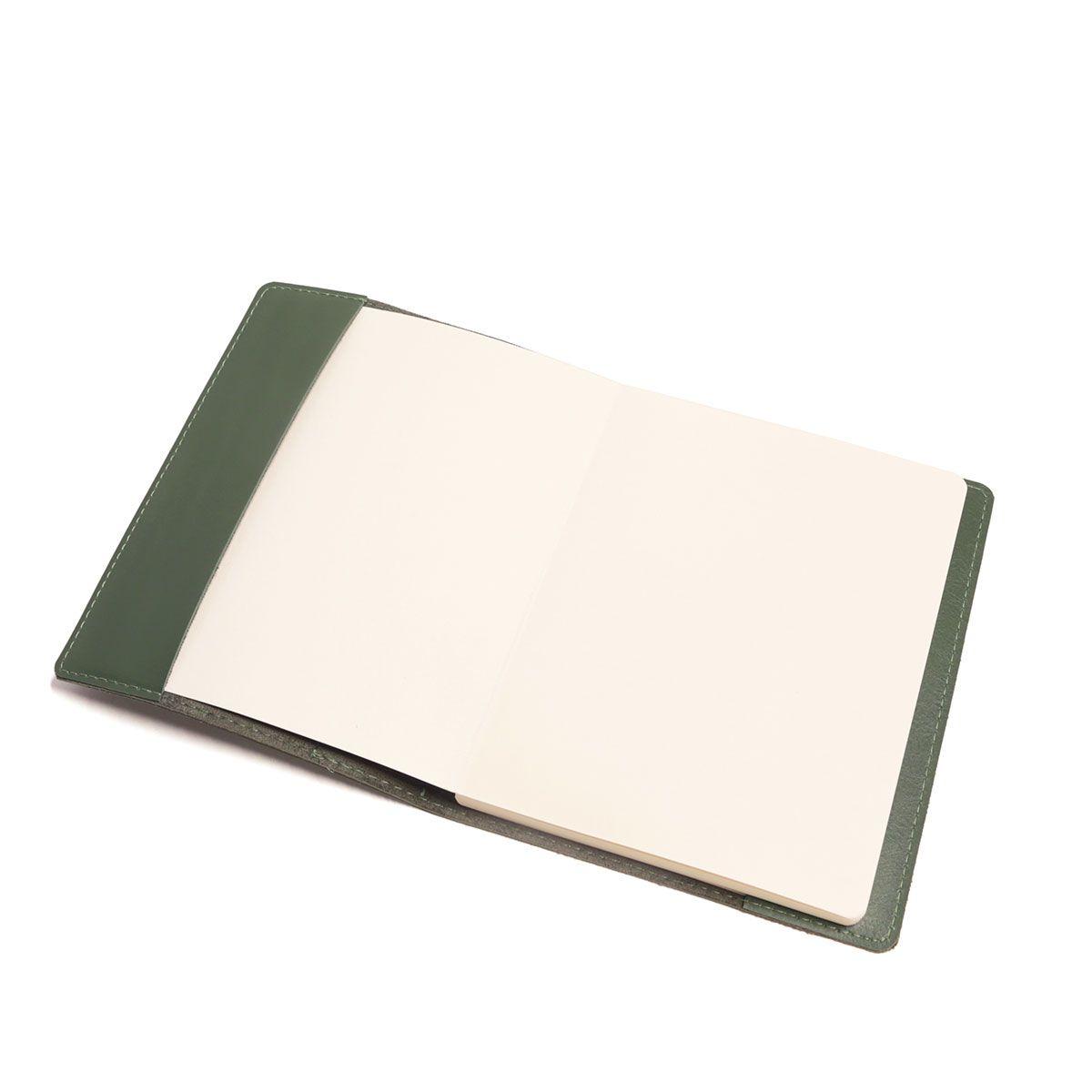 Caderno com sobrecapa (Montana Verde Musgo)