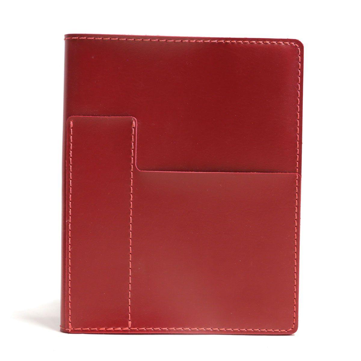 Caderno com sobrecapa (Montana Vermelho)