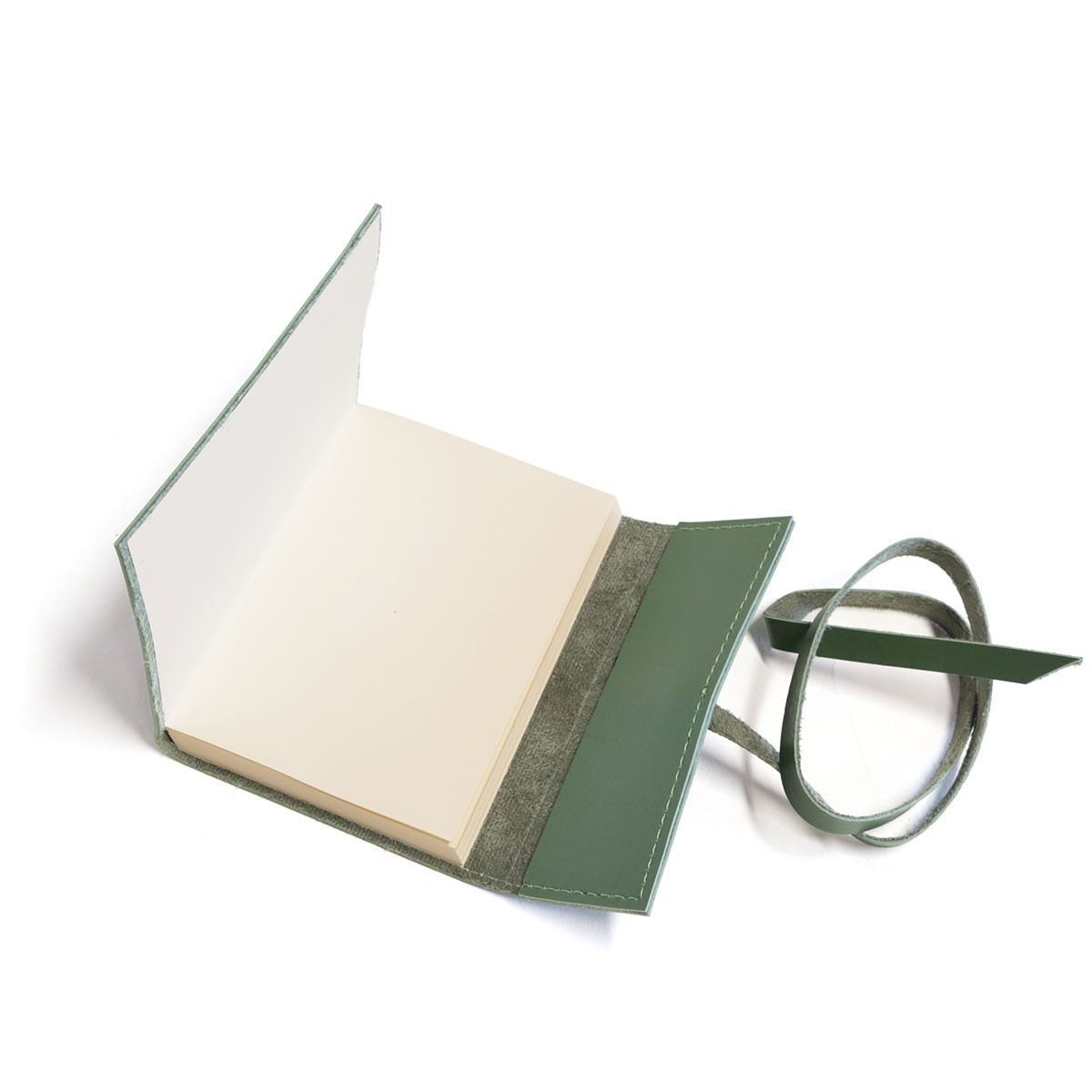 Caderno medieval (Montana Verde Musgo)