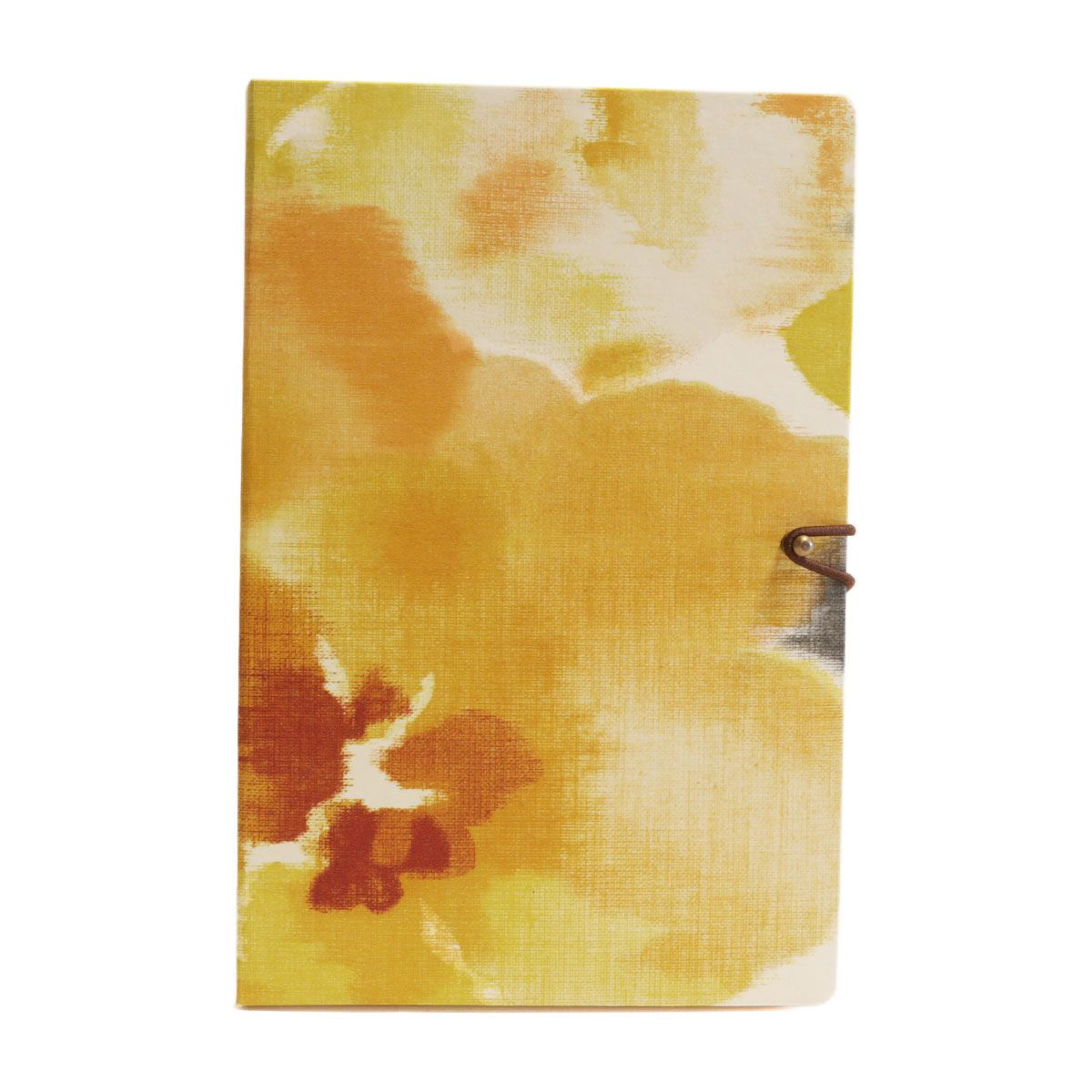 Caderno pautado (Florear Amarelo)