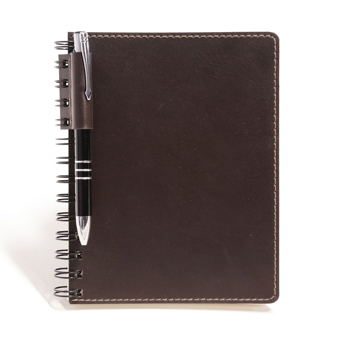 Caderno wire-o com caneta (Montana Marrom)
