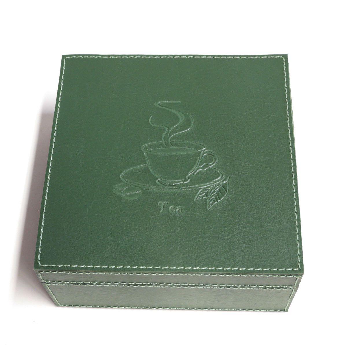 Caixa de chá (Montana Verde Musgo)