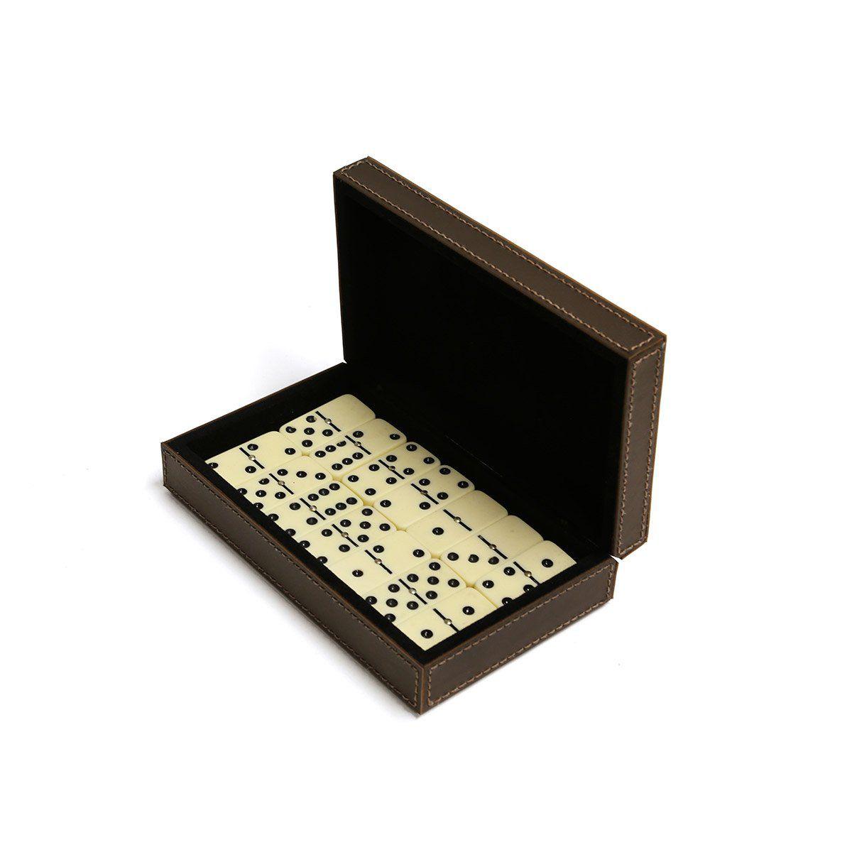 Caixa de dominó (Montana Marrom)