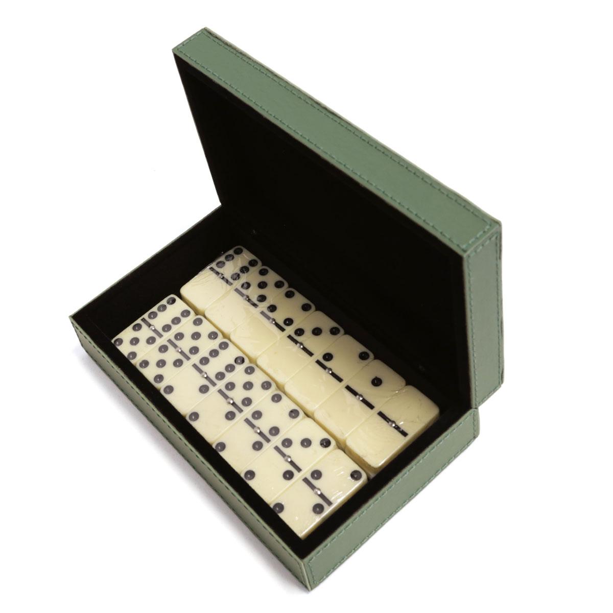 Caixa de dominó (Montana Verde Musgo)