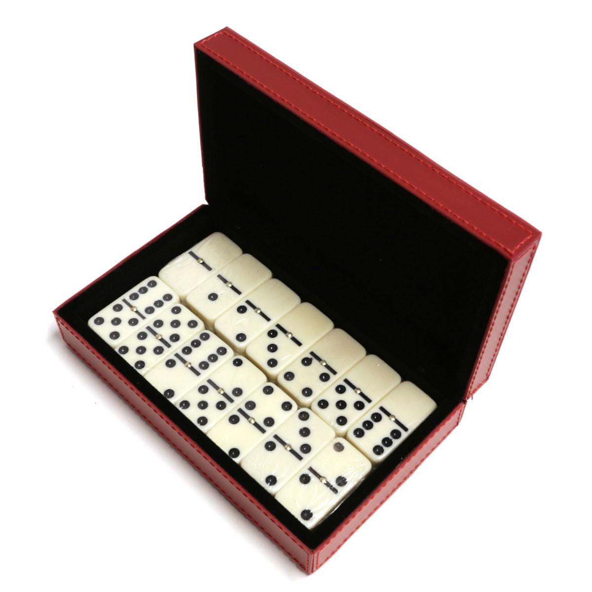 Caixa de dominó (Montana Vermelho)
