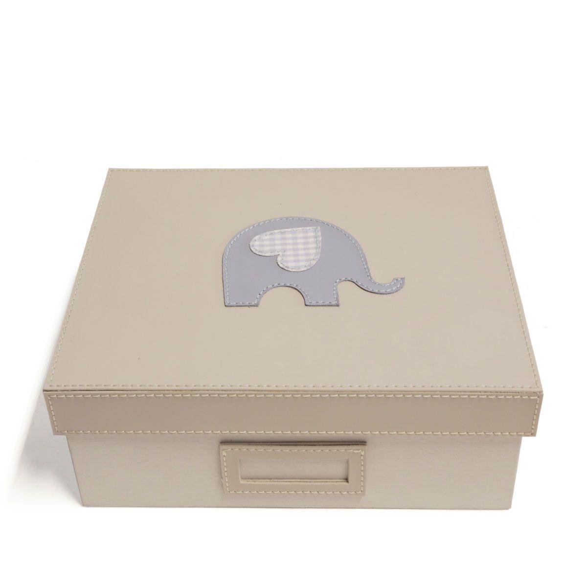 Caixa Tampa Fixa (Elefante Azul)