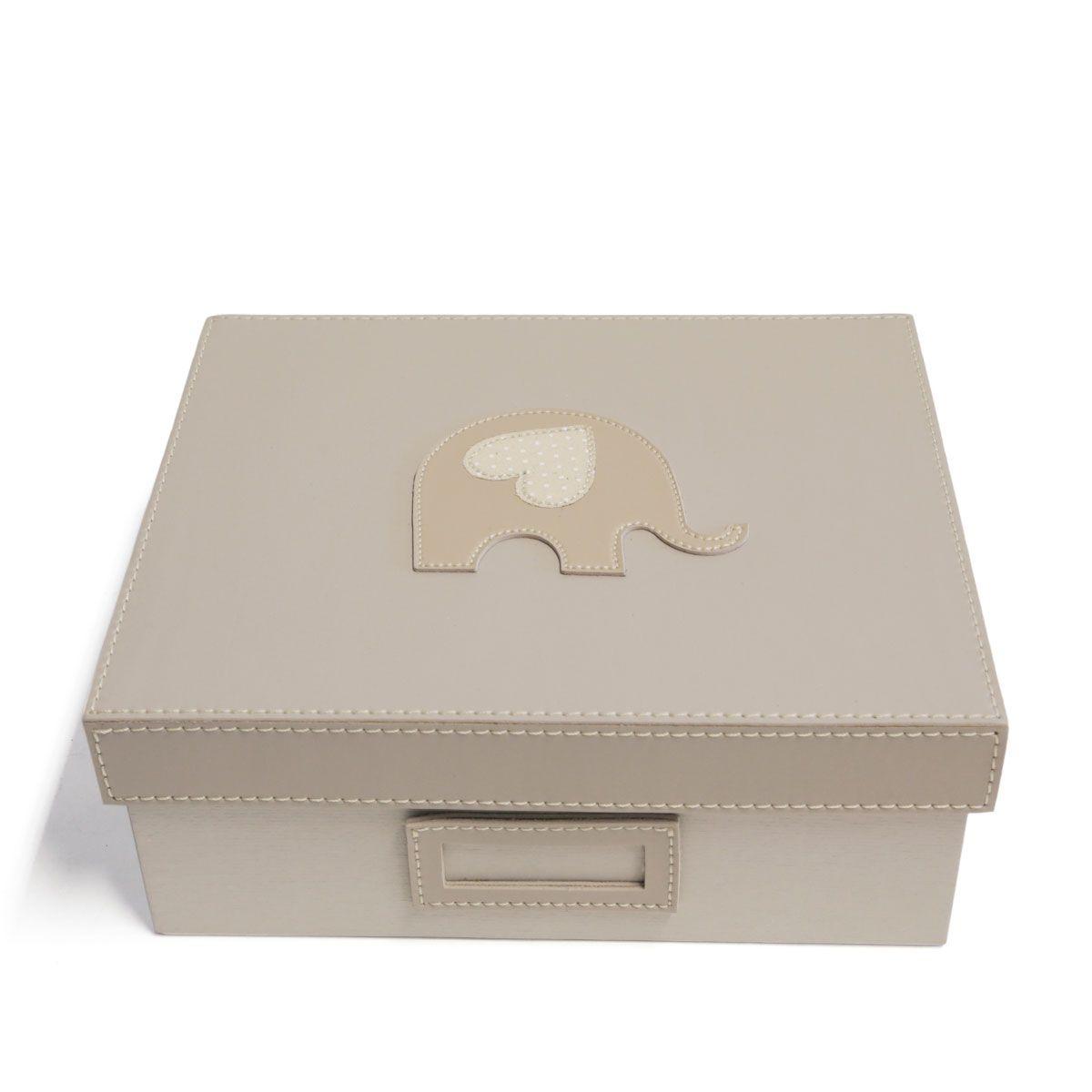 Caixa organizadora (Elefante Bege)