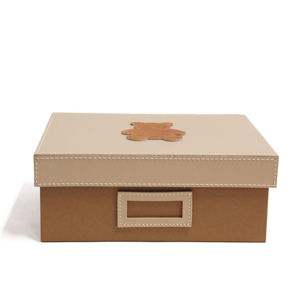 Caixa organizadora (Urso Caramelo)