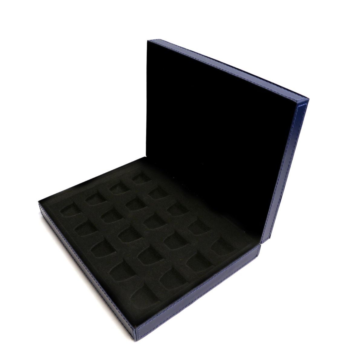 Caixa para cápsulas de café (Montana Azul Marinho)