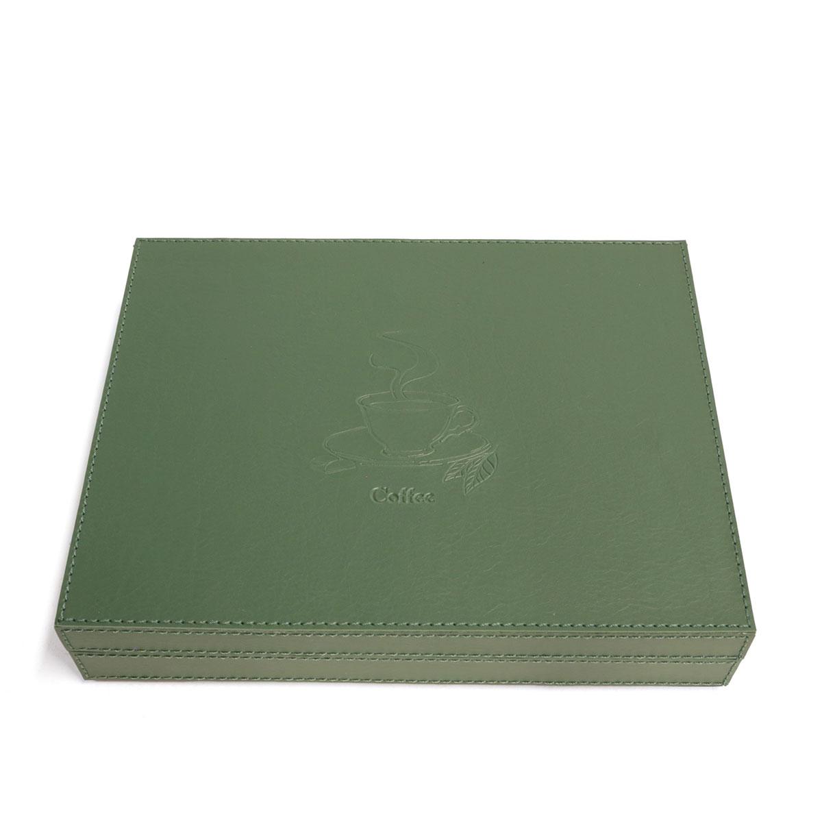 Caixa para cápsulas de café (Montana Verde Musgo)
