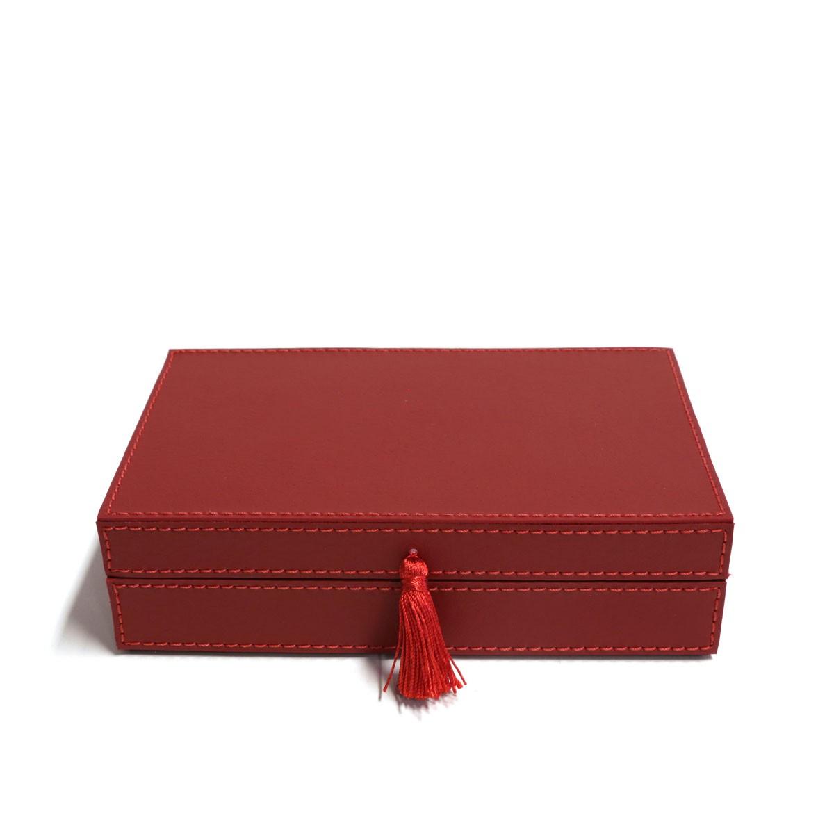 Caixa porta joias (Montana Vermelho)