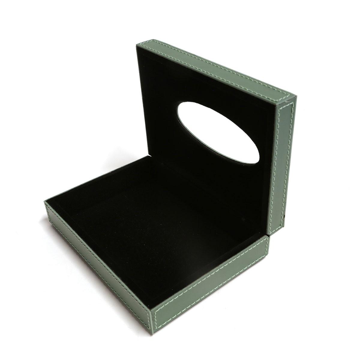 Caixa porta lenços (Montana Verde Musgo)