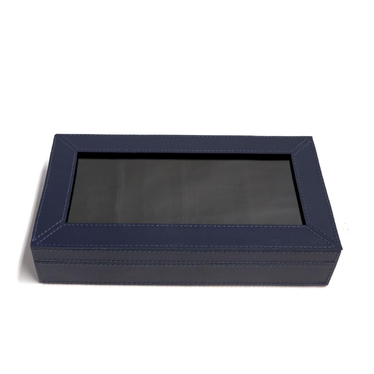 Caixa porta óculos (Montana Azul Marinho)