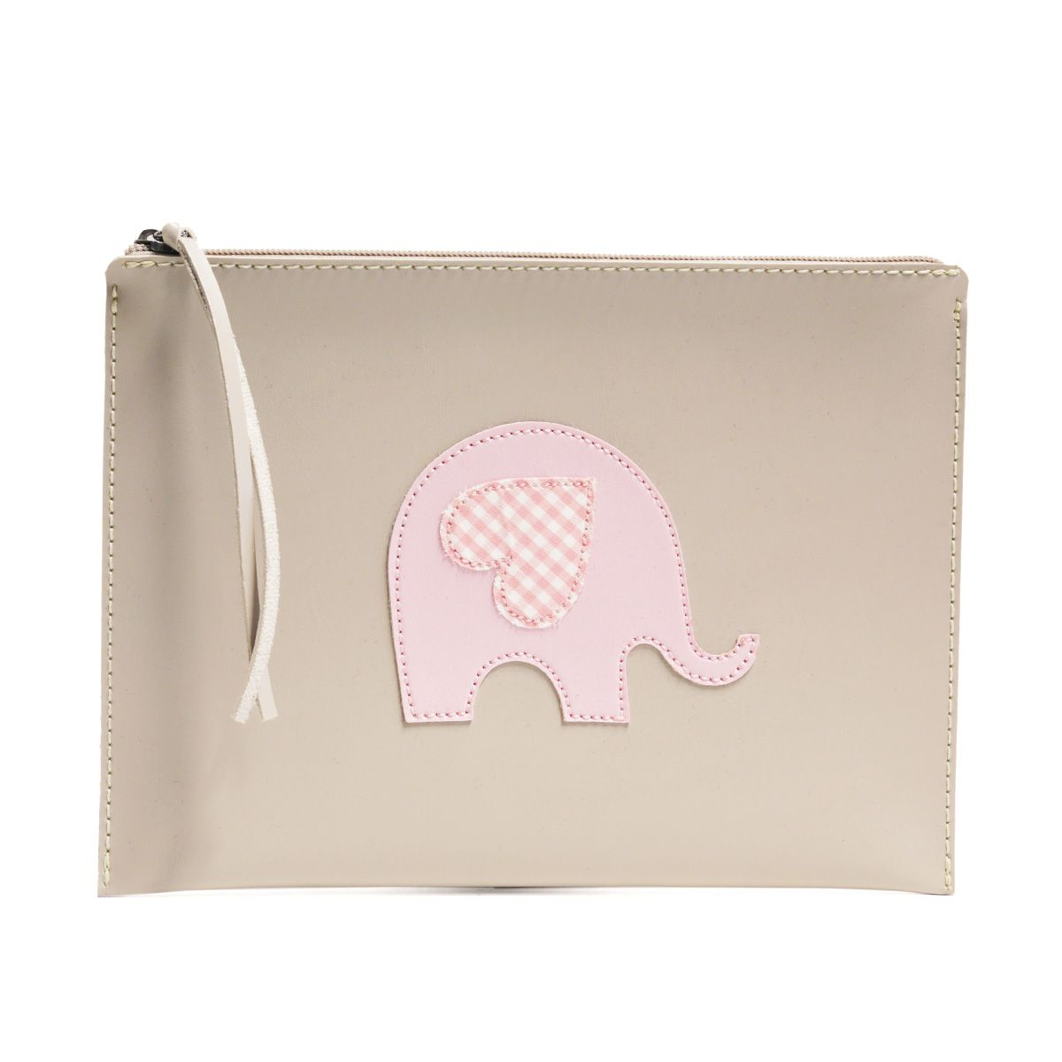 Carteira de mão (Elefante Rosa)