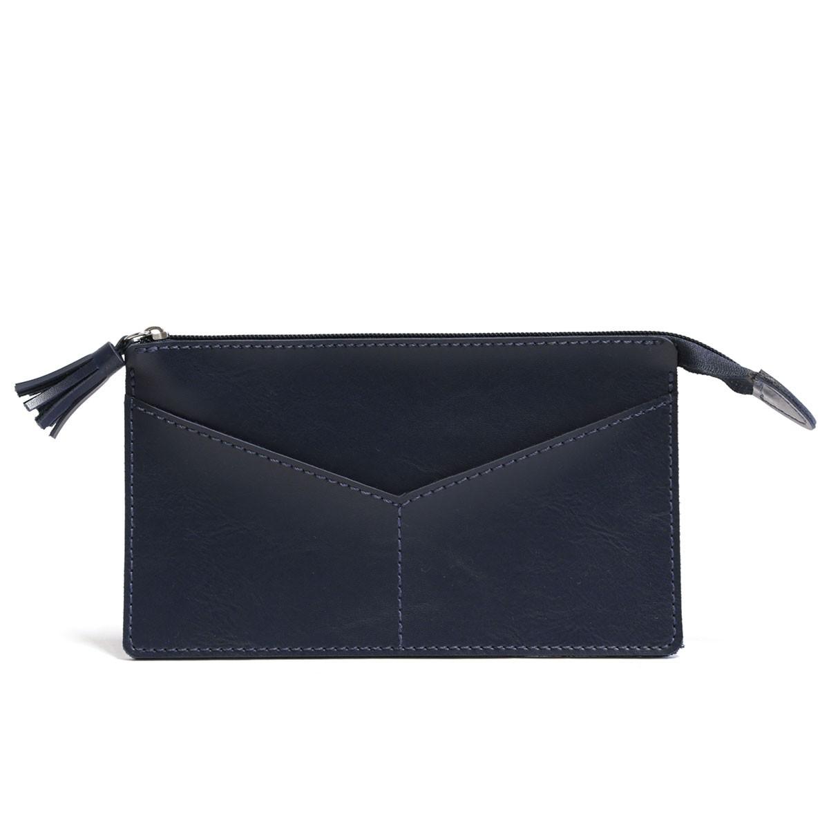 Carteirinha com bolso (Montana Azul Marinho)