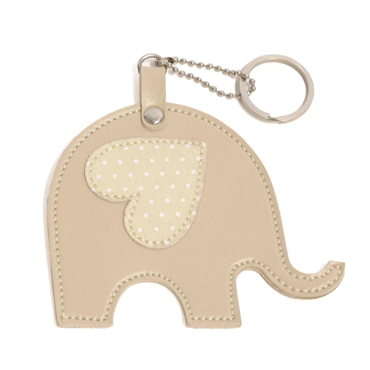 Chaveiro (Elefante Bege)